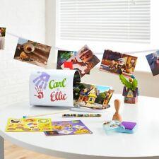 More details for disney store up carl & ellie desk stationery set mailbox postcards
