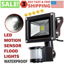 Outdoor Motion Sensor Flood Light Waterproof Safety LED Security Lights Indoor