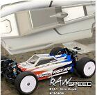 Raw Speed Nitehawk V2 Body for Associated B74.1 B74.1D Buggy 780806LW 780806