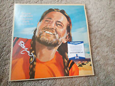WILLIE NELSON Signed COUNTRY ALBUM - BECKETT COA - AUTOGRAPH GREATEST hITS