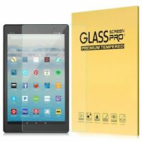 "HD Tempered Glass Screen Protector For Amazon Fire HD 10 Tablet 10.1"" 2017"