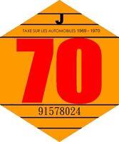 vignette 1970 véhicule collection CITROEN RENAULT PEUGEOT PORSCHE TRIUMPH LOTUS