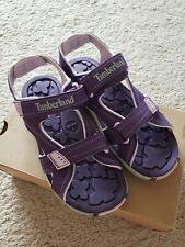 New Timberland Mad River Girl Sandals Size 2Y
