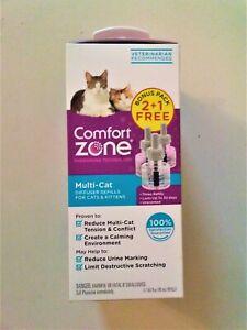 Comfort Zone Calming Multi-Cat Diffuser Triple Refill, 3 Count UPC: 039079002745