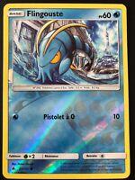Carte Pokemon FLINGOUSTE 25/131 REVERSE Soleil et Lune 6 SL6 FR NEUF