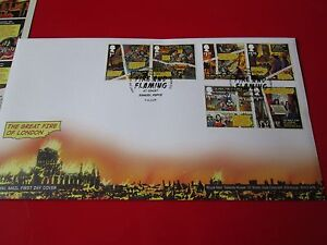 Great Fire of London Stamp Souvenir FDC Pack 6 STAMPS Royal Mail 2016