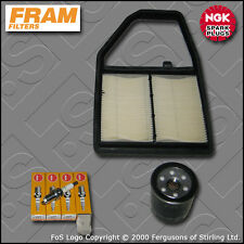 SERVICE KIT for HONDA CIVIC (EP2) 1.6 SPORT FRAM OIL AIR FILTERS PLUGS 2001-2005