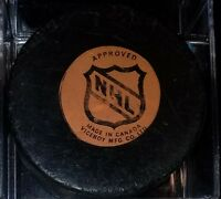 RARE 1973-83 VINTAGE NHL COLORADO ROCKIES HOCKEY PUCK MADE IN CANADA