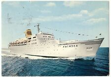 Sitmar Cruises Puerto Vierta Mexico Fairsea Ship postcards