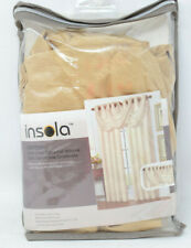 Insola® Odyssey Insulating Waterfall Window Valance in Gold