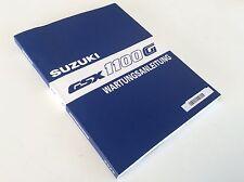 RARITÄT - original WERKSTATTHANDBUCH deutsch Suzuki GSX 1100 G 91-94 NEU & OVP