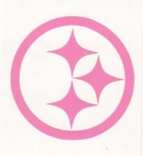 Pink Pittsburgh Steelers helmet car window RTIC decal sticker up to 12 inches