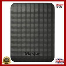 Maxtor 1TB USB 3.0 Portable External Hard Drive PC Laptop Travel Memory Backup
