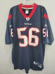 Reebok On Field NFL Houston Texans Brian Cushing 56 Jersey Mens L Sewn