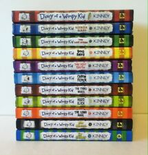 Lot 11 DIARY OF A WIMPY KID Series 1-10, 12 (Hardcover) Jeff Kinney