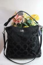 Coach Madison Op Art Sateen Isabelle 21121 PURSE BAG CONVERTIBLE (300