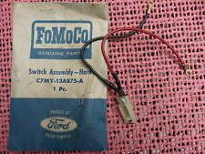 1967 1968  LINCOLN CONTINENTAL MERCURY HORN SWITCH NOS