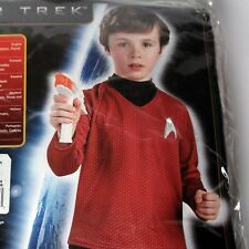 Rubies Star Trek Scotty Costume Licensed Age 5-7 - Shirt + Trousers New In Pack
