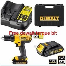 DEWALT 18V CORDLESS LITHIUM LXT COMBI DRILL,DRILL DRIVER WITH HAMMER ACTION