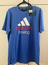 New ADIDAS BOXING Community Men's T-SHIRT, Blue, Size L