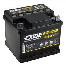 Batterie camping car Exide equipement GEL ES450 12v 40ah 166X175X125MM