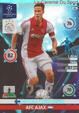 280 MOISANDER AFC.AJAX DEFENSIVE CARD CHAMPIONS LEAGUE ADRENALYN 2015 PANINI