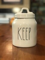 New Rae Dunn By Magenta Small KEEP Canister Farmhouse LL
