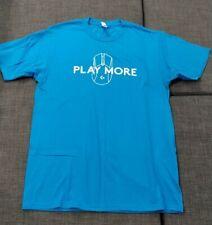Logitech Play More, T Shirt, Adult Large | PAX West + Free Random PAX Lanyard