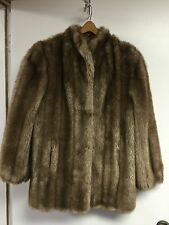 Women's L Faux Fur Russell Taylor Signature Collection Numbered Vintage