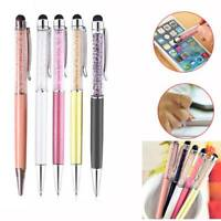 Universal Pen Stylus Ballpoint Touch Screen For Cell Phone Tablet iPad Samsung