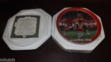 Joe Montana Vintage Sports Plates
