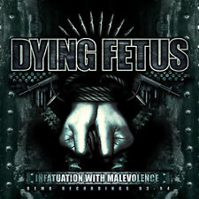 DYING FETUS Infatuation With Malevolence Reissue CD Relapse Records CD7129R