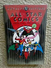 DC ARCHIVES EDITIONS ALL STAR COMICS VOLUME 6 HC MINT SEALED JSA