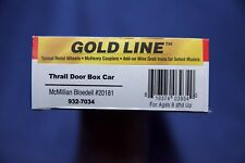Walthers (Gold Line) 932-7034, 55FT THRALL DOOR BOX CAR,