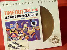 "DAVE BRUBECK "" TIME OUT "" (SONY-24KARAT-GOLD-CD/FACTORY SEALED)"