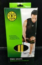 "New 3"" x 72"" Golds Gym Competition Heavy Duty Knee Wraps Joint Support C4-6"