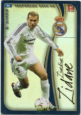 Zinedine zidane fan Big card Edition d21 fútbol National jugador francia