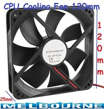 120mm x 25mm 2Pin CPU Cooling Fan 12V DC PC Computer Cooler Radiator Case LYF #5