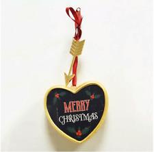 """""""Merry Christmas"""" Art A Gram Wall Decor - Collectible Hearts"""