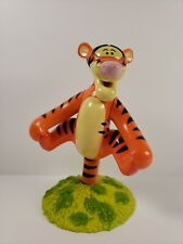 "Disney Winnie The Pooh's Tigger Plastic 6.5"" Inch Bobble Head Figure"