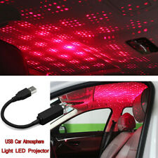 USB Car Atmosphere Lamp Interior Ambient Star Light LED Projector Starry Lamp *1