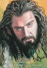 The Hobbit The Desolation Of Smaug, Richard Armitage Illustration Autograph Card
