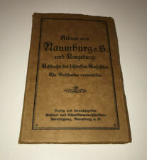 UNPOSTED DIVIDED  BACK POSTCARD ALBUM 18 POSTCARDS NAUMBURG GERMANY & ENVIOREMNT