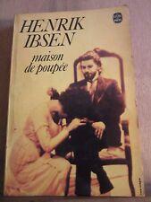 Henrik Ibsen: maison de poupée/ Le Livre de Poche, 1977