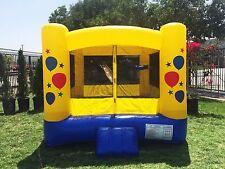 JumpOrange Kiddo 8'X8' Balloon Inflatable Party Bounce House $300 On Sales