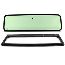 New Green Tinted Windshield Glass with Frame for Jeep Wrangler YJ 1987-1995