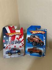 Hot Wheels Lot 2X Flag Day Jeep Scrambler / jeep scrambler Heat Fleet '09 X14