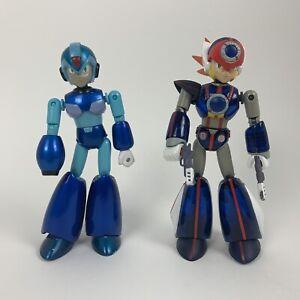 "Lot Of 2 Jazwares 2004 Capcom 6'"" Action Figures Mega Man X & Axl"