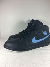 Nike Air Jordan 1 Retro Mid Obsidiyan/Univerity Blue Retro SZ 13 554724 405