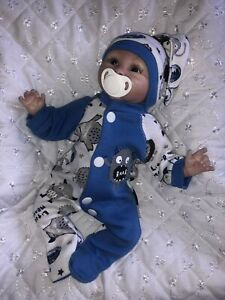 """HANDMADE CLOTHES FOR 10-11"""" REBORN,SCULPT,OOAK BABY DOLL **DOLL NOT INCLUDED **"""